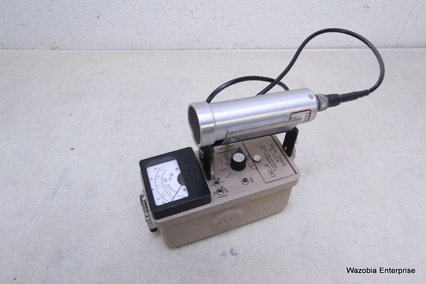 LUDLUM MODEL 3 SURVEY METER WITH PROBE