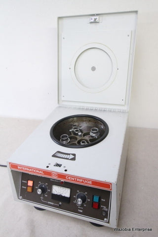 IEC CENTRA 4 CENTRIFUGE WITH 215 SWING ROTOR