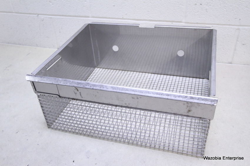 "HARFORD METAL PRODUCTS STERILIZATION BASKET SURGICAL CONTAINER 17.5""X15""X8"""