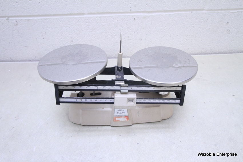 OHAUS MECHANICAL BALANCE 2KG 5 LB SCALE