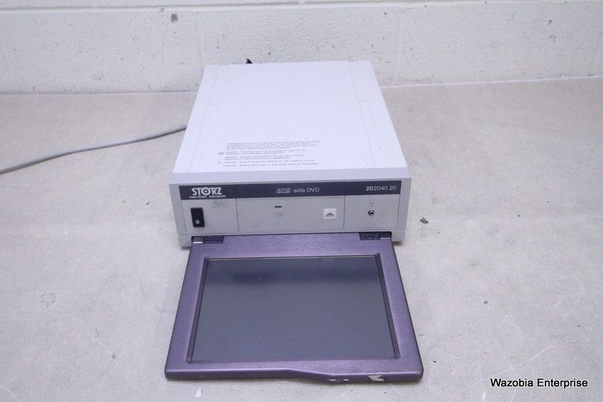 KARL STORZ ENDOSKOPE SCB AIDA DVD 202040 20 SMART SCREEN FOR VIDEO  ENDOSCOPY