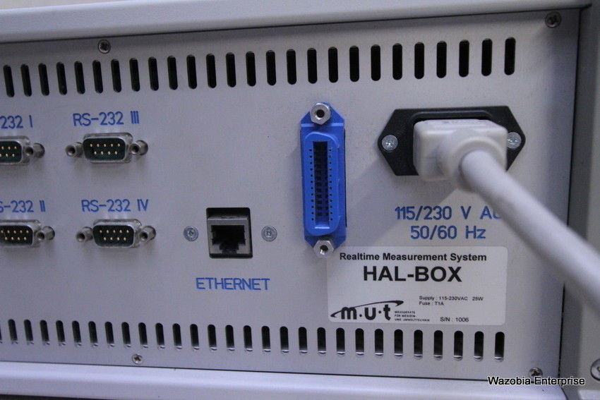 REALTIME MEASUREMENT SYSTEM HAL-BOX MUT M-U-T
