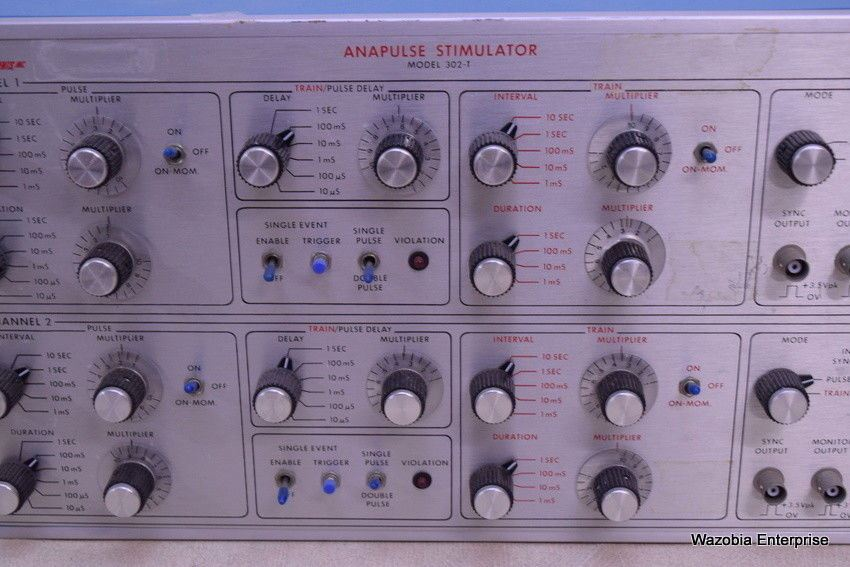 WPI W-P INSTRUMENTS ANAPULSE STIMULATOR MODEL 302-T