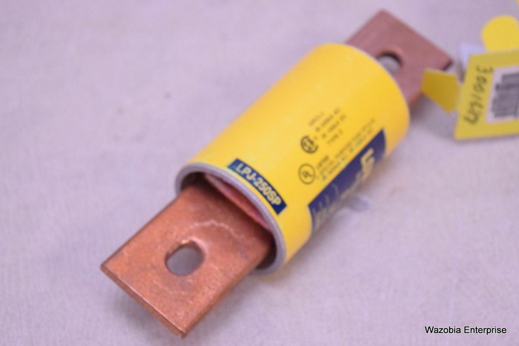 COOPER BUSSMANN LPJ-250SP LOW PEAK CLASS J TIME DELAY FUSE 250A 600V 3001687