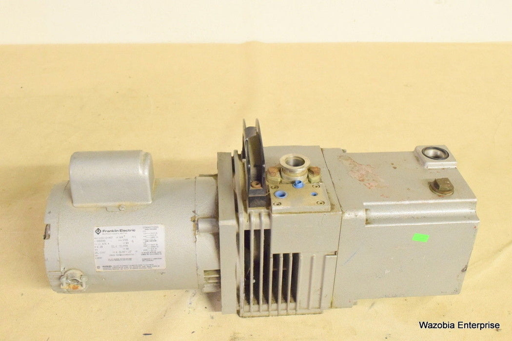 FRANKLIN ELECTRIC VACUUM PUMP MODEL 1101101407