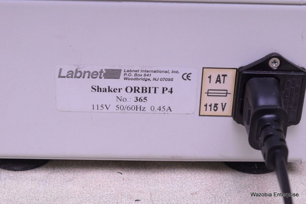 LABNET ORBIT P4 SHAKER MODEL 365