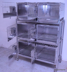 SHOR-LINE KC.MO SHOR LEDGE STAINLESS STEEL ANIMAL CAGE