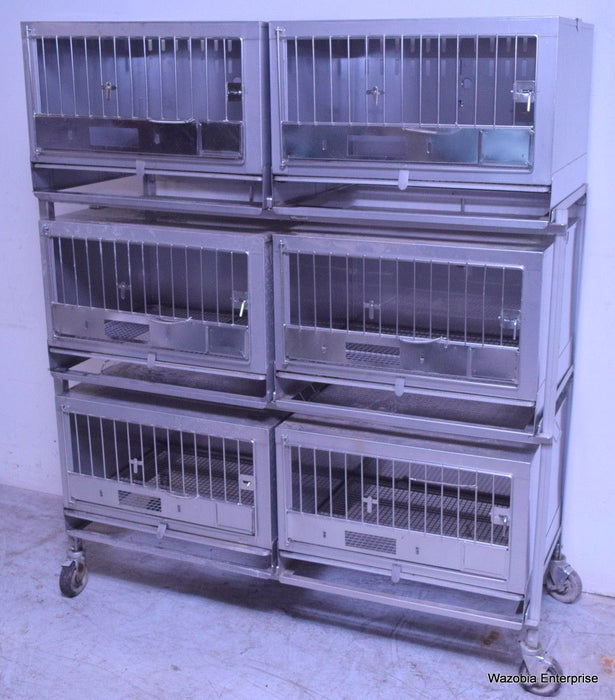 WAHMANN STAINLESS STEEL ANIMAL CAGE