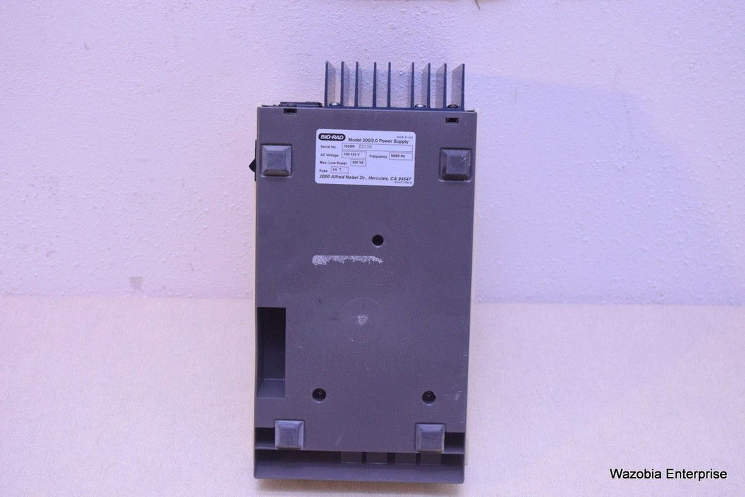 BIO RAD MODEL 200/2.0 POWER SUPPLY