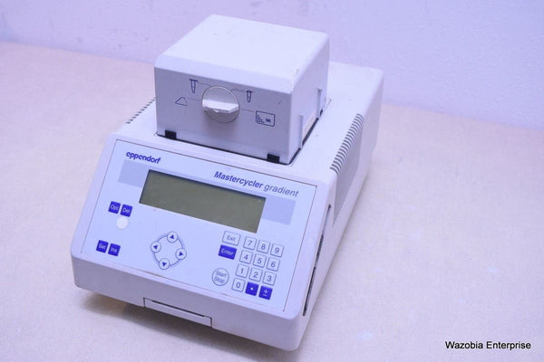 EPPENDORF MASTERCYCLER GRADIENT PCR THERMAL CYCLER MODEL 5331
