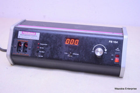 FISHER SCIENTIFIC FISHER BIOTECH ELECTROPHORESIS SYSTEM MODEL FB154 POWER SUPPLY