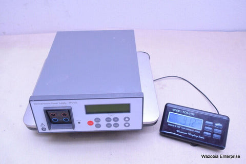 GE ELECTROPHORESIS POWER SUPPLY MODEL EPS 601