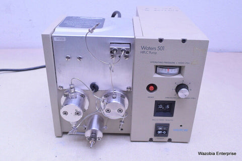 MILLIPORE  WATERS MODEL 501 SOLVENT DELIVERY SYSTEM HPLC PUMP