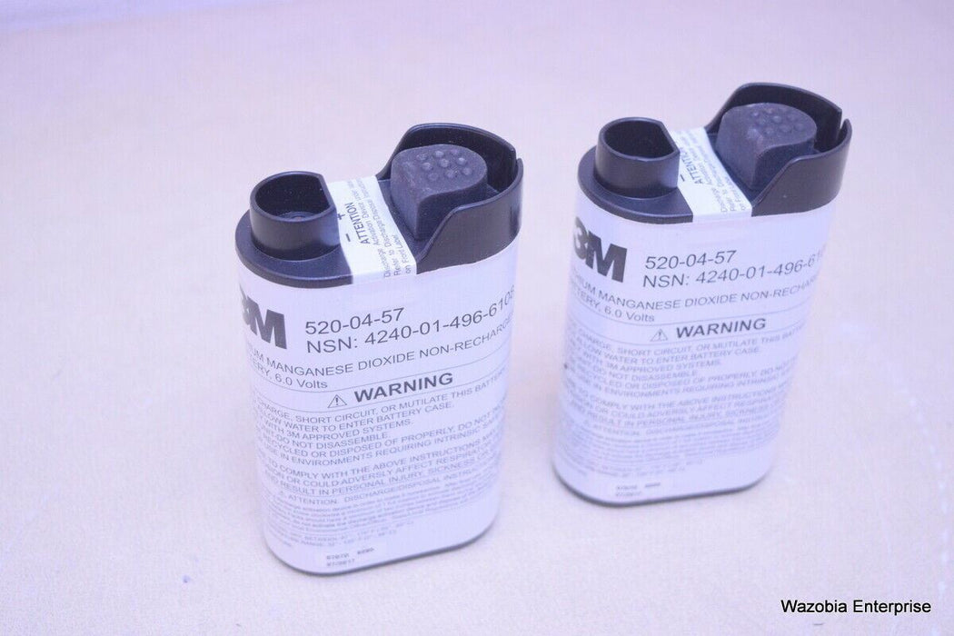 3M 520-04-57 LITHIUM MANGANESE DIOXIDE NON-RECHARGEABLE BATTERY