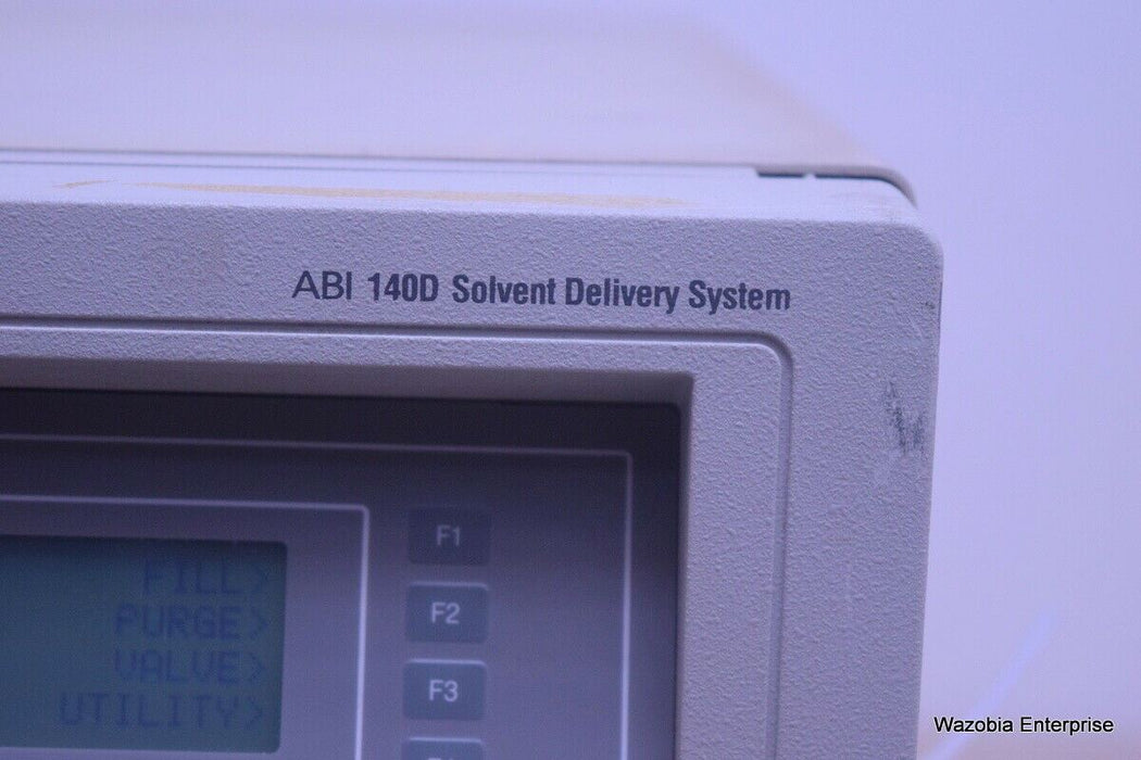 AB APPLIED BIOSYSTEM ABI 140 D SOLVENT DELIVERY SYSTEM