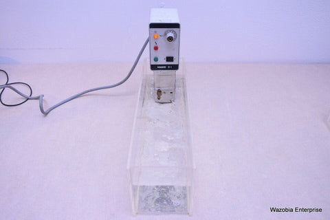 HAAKE MODEL D1  HEATED WATER BATH CIRCULATOR  IMMERSION  RECIRCULATING