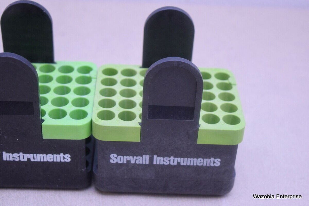 LOT OF 3 SORVALL CENTRIFUGE SWING ROTOR ADAPTERS