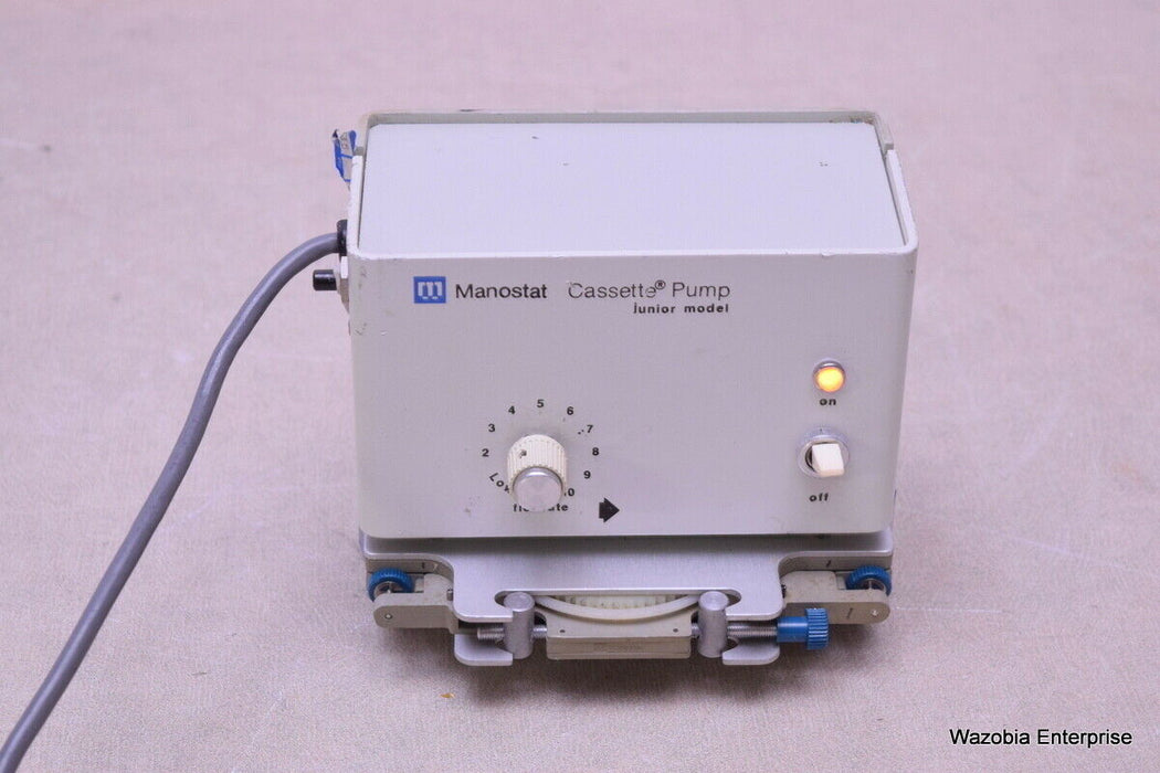 MANOSTAT CASSETTE PUMP JUNIOR MODEL CAT. NO. 72510000