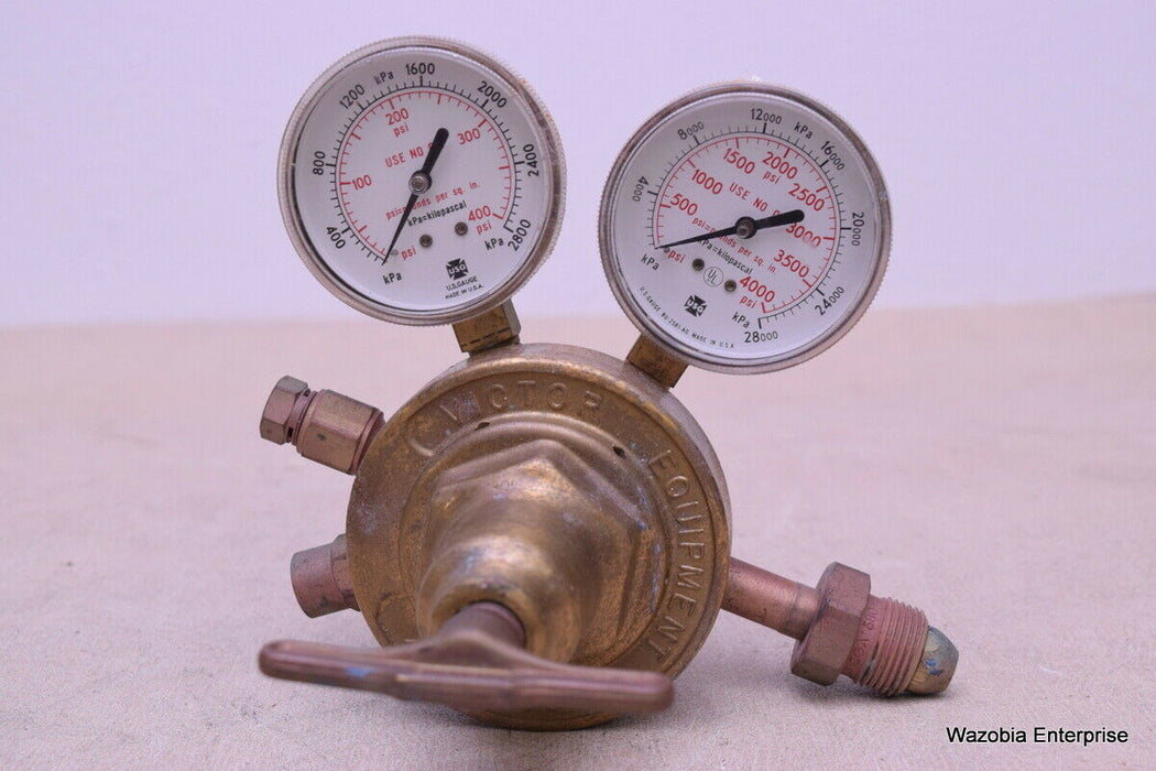 VICTOR EQUIPMENT GAS REGULATOR CU66448 MODEL SR 450E