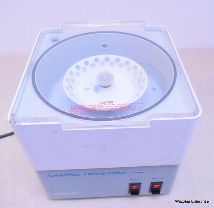 SAVANT SPEEDVAC CONCENTRATOR MODEL SVC100H