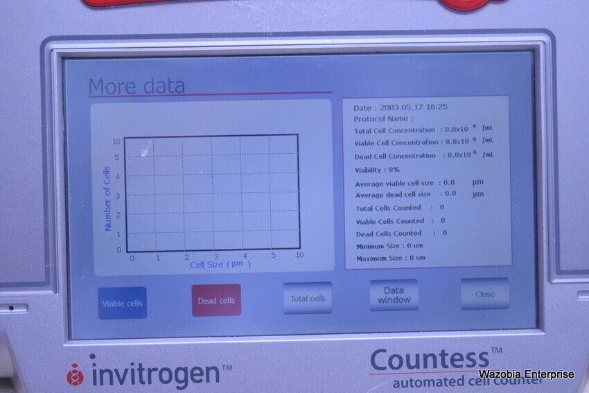 INVITROGEN COUNTESS AUTOMATED CELL COUNTER C10281