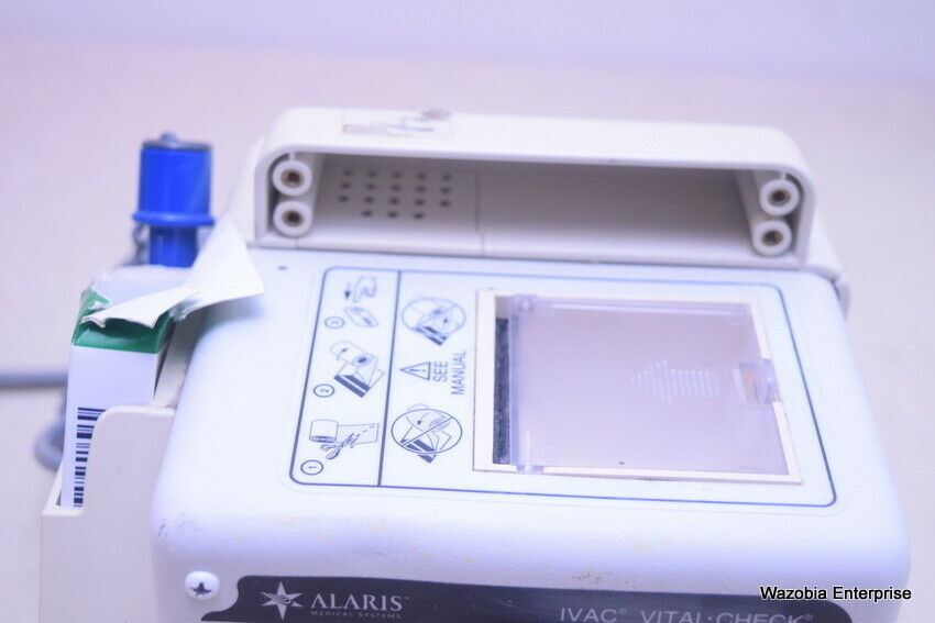 IVAC CORPORATIONS VITAL CHECK ALARIS MEDICAL SYSTEMS MODEL 4515
