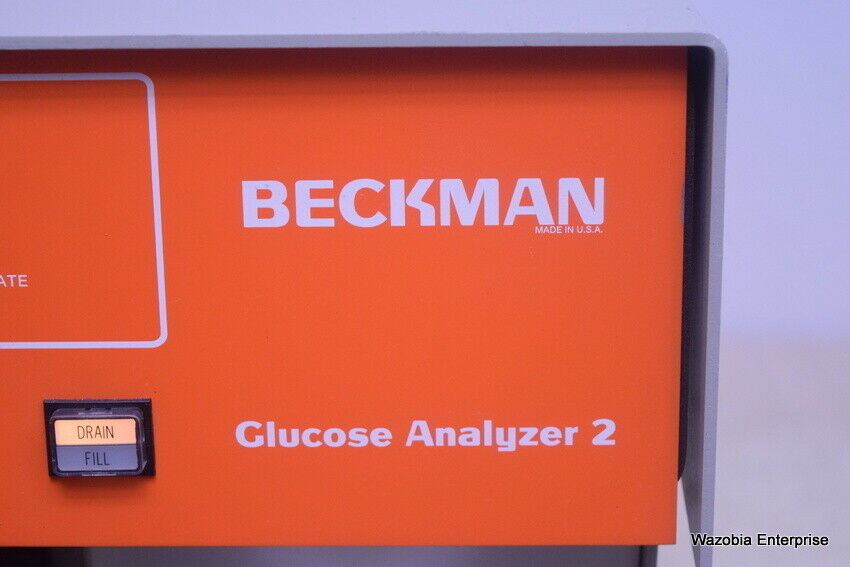 BECKMAN COULTER GLUCOSE ANALYZER 2 MODEL 6517