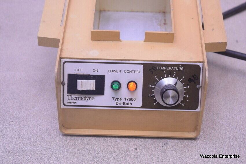 THERMOLYNE SYBRON DRI BATH TYPE 17600 MODEL DB17615