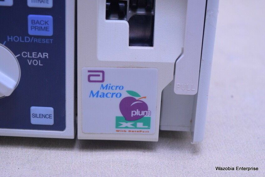 ABBOTT MICRO MACRO PLUM XL WITH DATA PORT