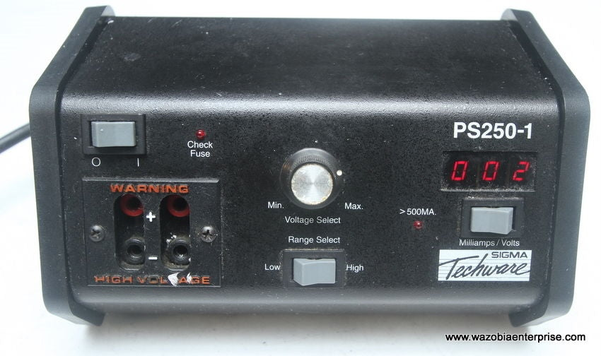 SIGMA TECHWARE PS250-1 POWER SUPPLY