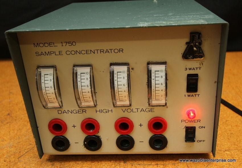 ISCO MODEL 1750 SAMPLE CONCENTRATOR