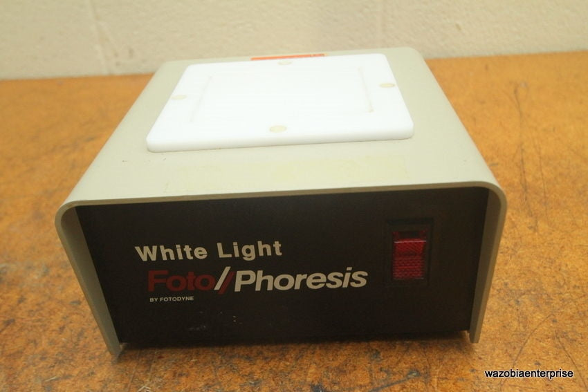 FOTODYNE WHITE LIGHT FOTO/PHORESIS MODEL 1-1700