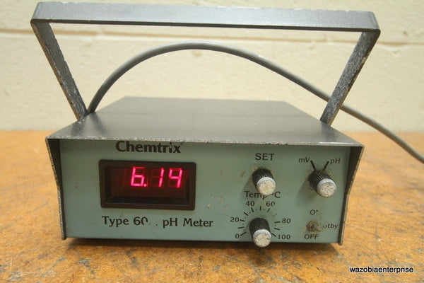 WHATMAN LABSALE INC CHEMTRIX TYPE 60A  PH METER 60