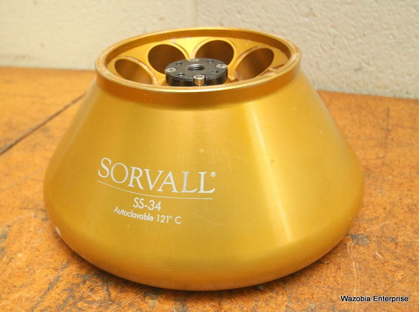 SORVALL SS-34 AUTOCLAVABLE 121 C CENTRIFUGE ROTOR