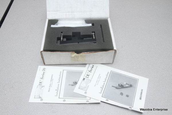 BECKMAN DU SERIES SPECTROPHOTOMETER MICRO AUTO-1 ACCESSORY