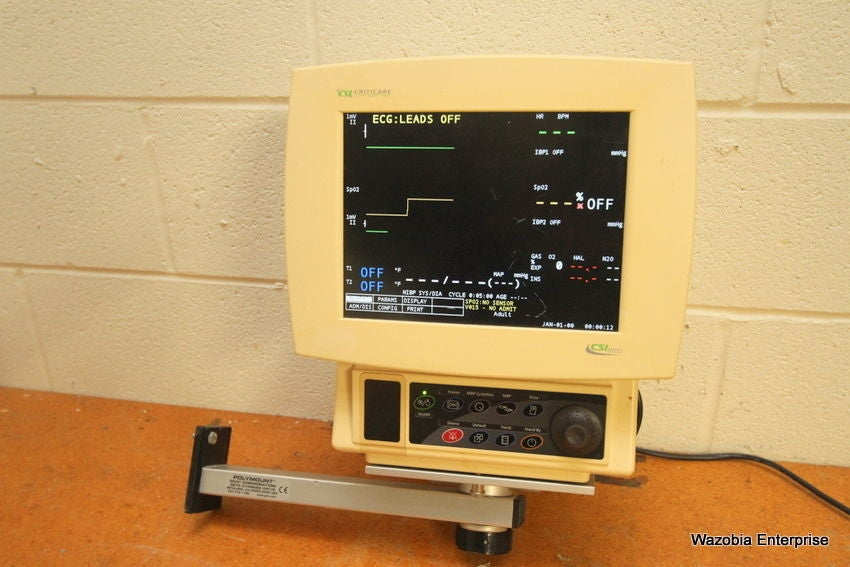 CSI CRITICARE SYSTEMS 8100 SERIES VITAL PATIENT MONITOR