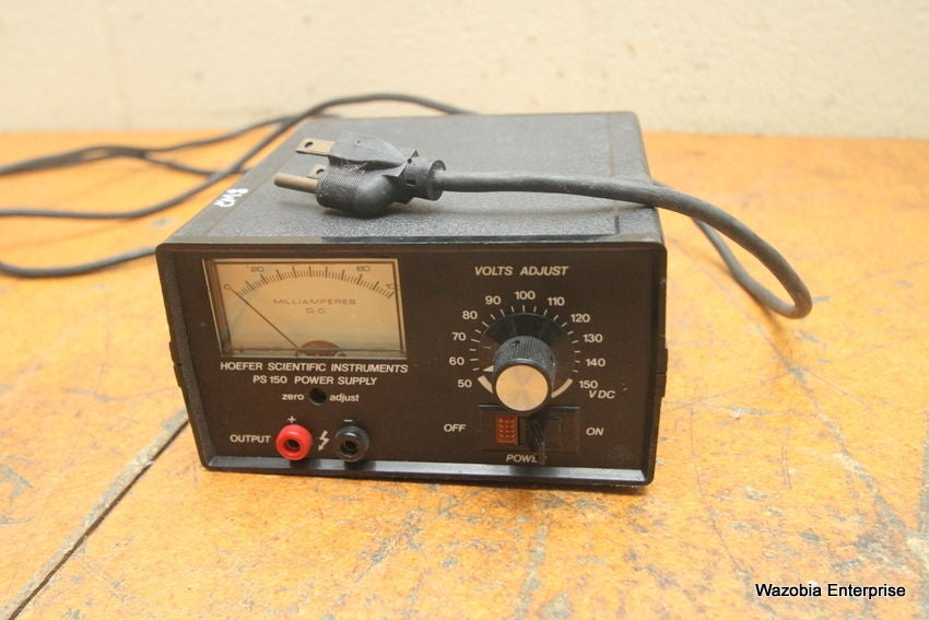HSI HOEFFER SCIENTIFIC INSTRUMENTS MODEL PS150 PS 150 POWER SUPPLY