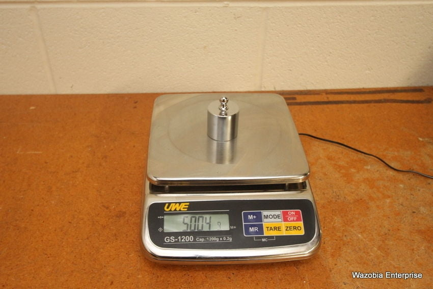 UWE GS-1200 TOP LOADING LABORATORY SCALE  1200G X 0.2G