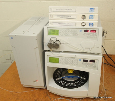 DIONEX HPLC SYSTEM P 580A 580 LPG  PUMP ASI 100 SAMPLE INJECTOR  UVD 170S 340S