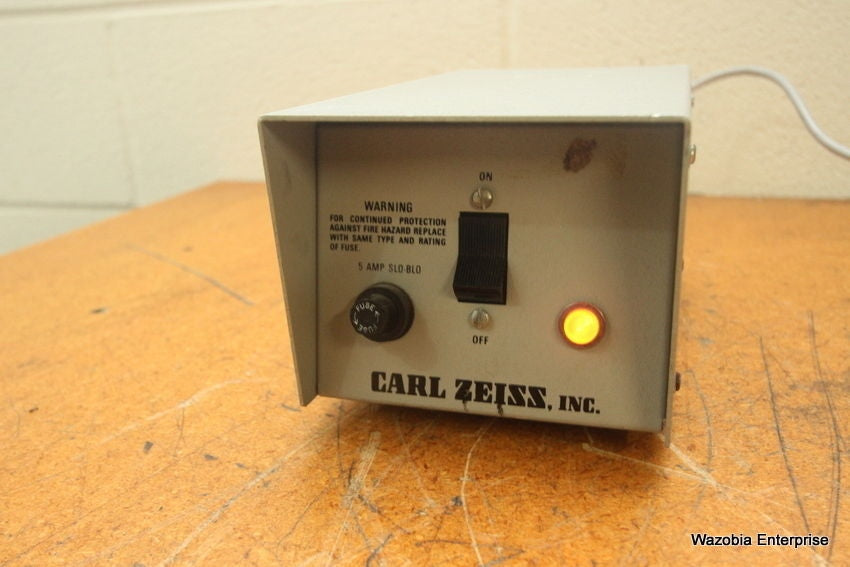 ELECTRO POWERPACS CARL ZEISS MICROSCOPE LIGHT SOURCE POWER SUPPLY MODEL 1100