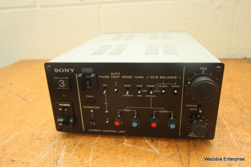 SONY CAMERA CONTROL UNIT MODEL CCU-M3