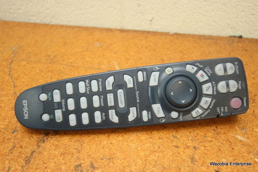 SIEKO EPSON LCD PROJECTOR REMOTE CONTROLLER 125061000
