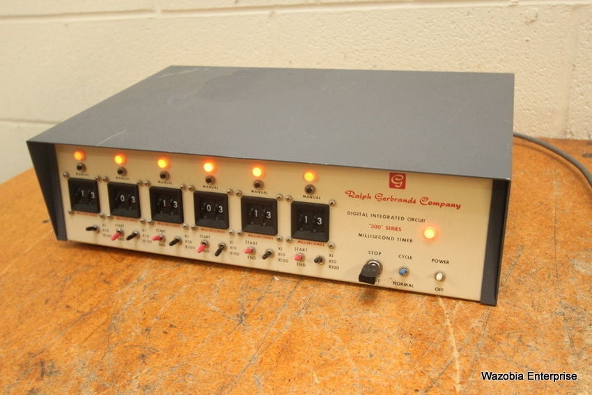 RALPH GERBRANDS DIGITAL INTERGRATES CIRCUIT 300 SERIES