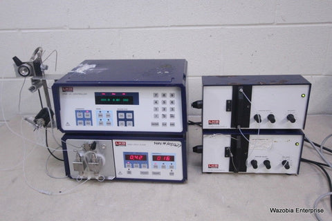 LKB BROMMA HPLC SYSTEM 2152 LC CONTROLLER 2150 HPLC PUMP 2138 UVICORD S