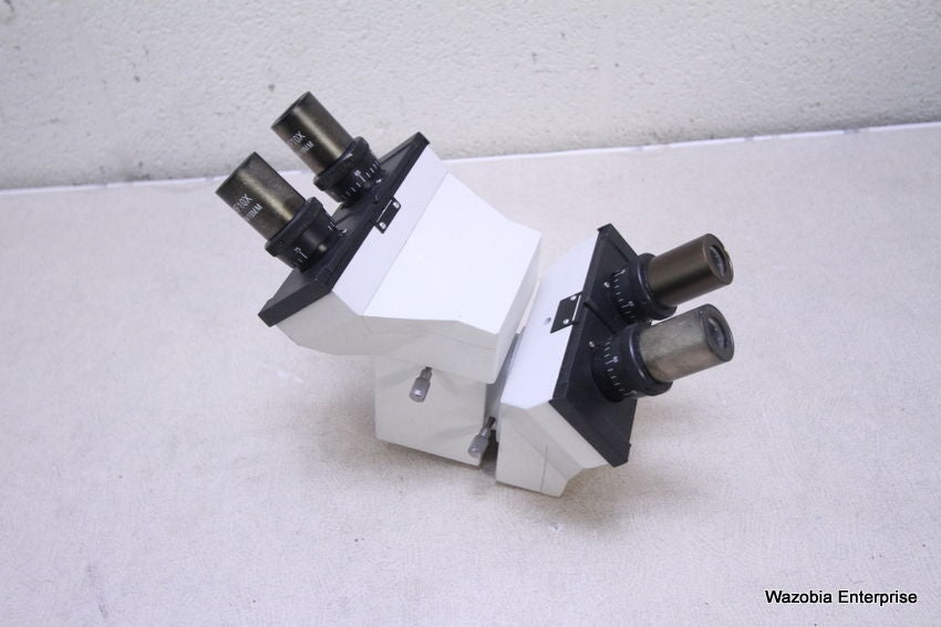 COMPOUND MICROSCOPE DUAL BINOCULAR HEAD WF10X