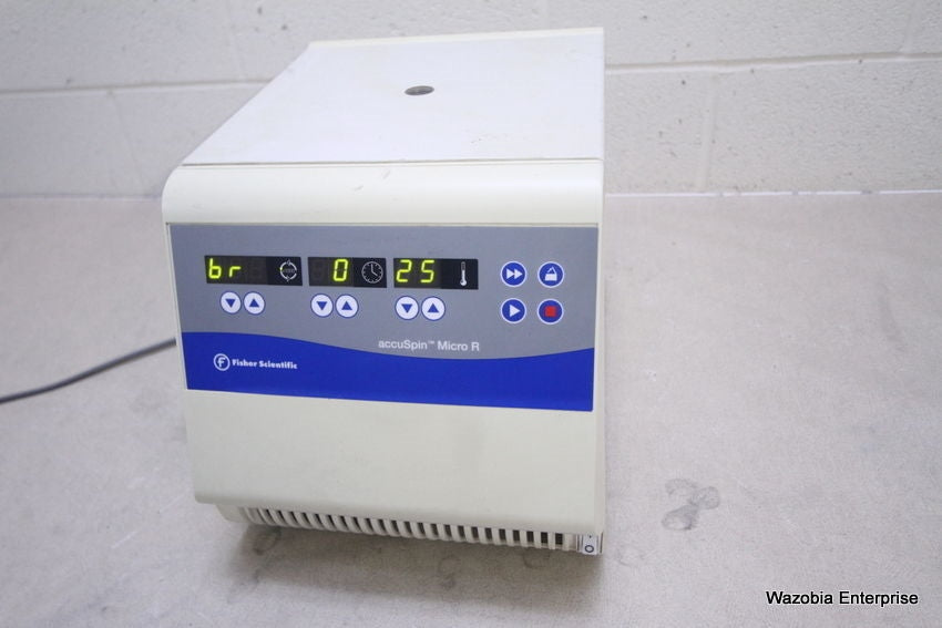 FISHER SCIENTIFIC ACCUSPIN MICRO R CENTRIFUGE