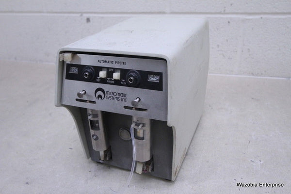 MICROMEDIC SYSTEMS AUTOMATIC PIPETTE 2500