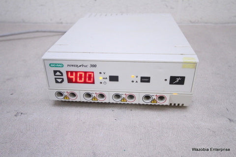BIO-RAD ELECTROPHORESIS POWER PAC 300 POWER SUPPLY