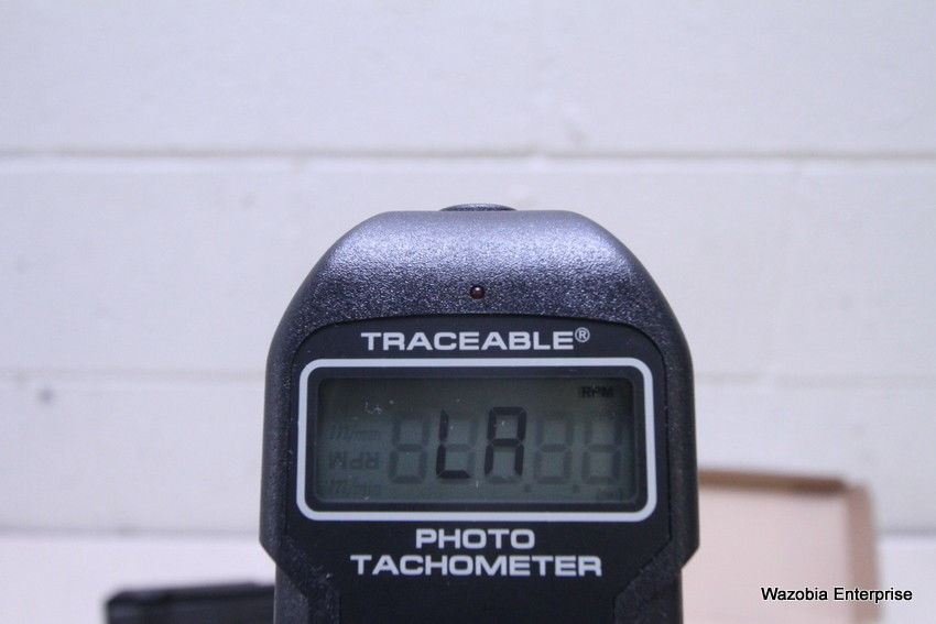 FISHER SCIENTIFIC TRACEABLE PHOTO TACHOMETER 05-028-24