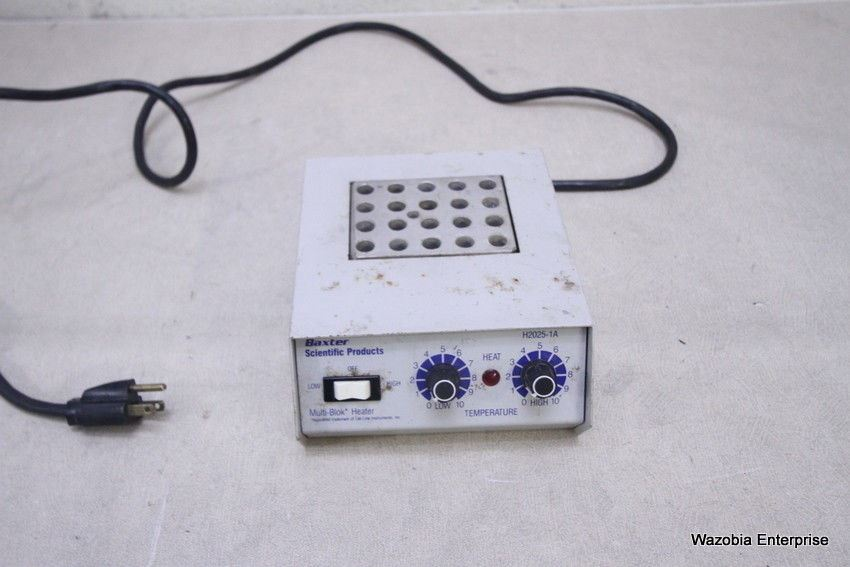 LAB-LINE BAXTER SCIENTIFIC MULTI-BLOK HEATER DRI-BATH H2025-1A